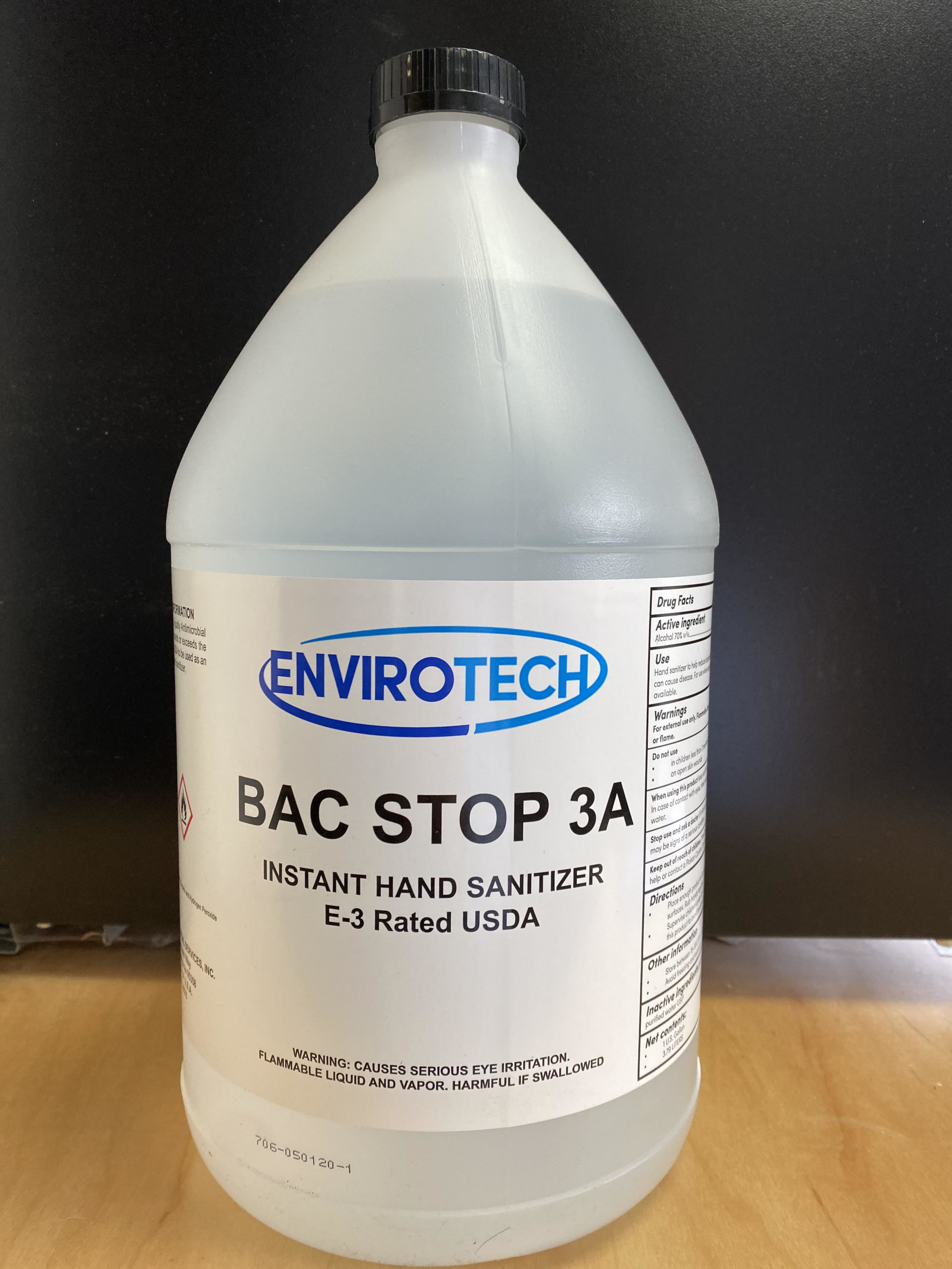 Hand Sanitizer 70% Alcohol